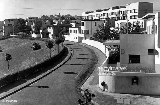Weissenhofsiedlungerbaut von L Mies van der Rohe undanderen Architekten 1927