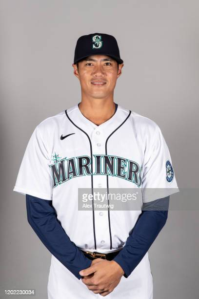 Wei-Yin Chen of the Seattle Mariners poses during Photo Day on Thursday, February 20, 2020 at the Peoria Sports Complex in Peoria, Arizona.