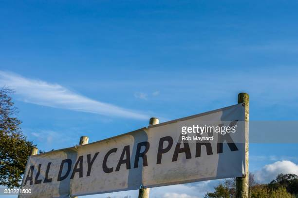 Welcome car park area