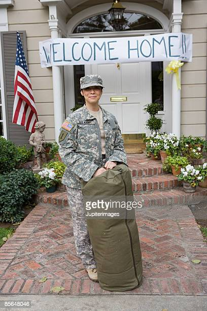 Welcome home, soldier