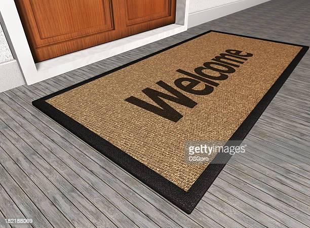 Tapis de bienvenue