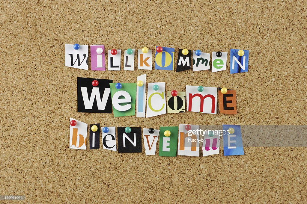 Welcome : Stock Photo
