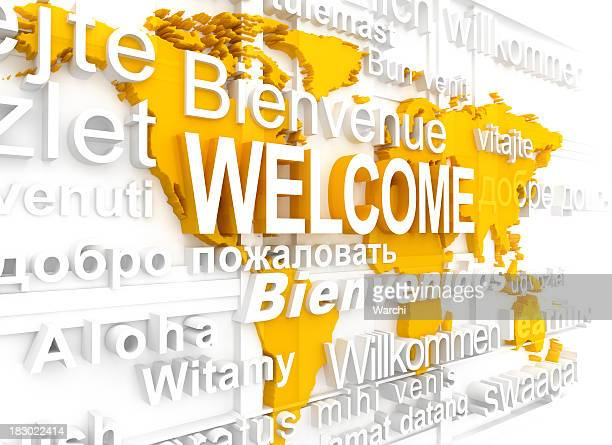 welcome - single word stock pictures, royalty-free photos & images