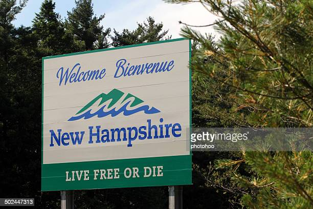 Welcome Sign in New Hampshire
