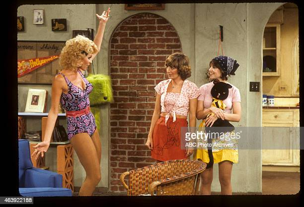 """Welcome to Burbank"""" - Airdate: November 25, 1980. LESLIE EASTERBROOK;PENNY MARSHALL;CINDY WILLIAMS"""