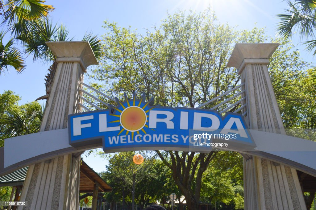 Welcome to Florida : Stock Photo