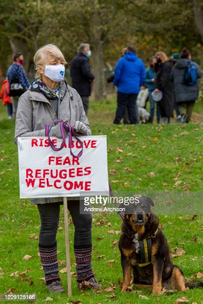 Welcome To Folkestone About 400 local residents and community groups including Kent Refugee Action Network and Samphire came together outside Napier...