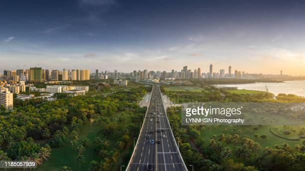 welcome to haikou - lynnhsin stock pictures, royalty-free photos & images