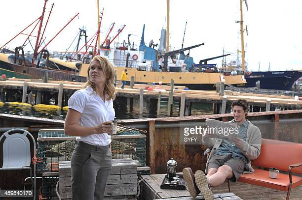 HAVEN 'Welcome to Haven' Pictured Emily Rose as Audrey Parker Eric Balfour as Duke Crocker Photo by Chris Reardon/Syfy