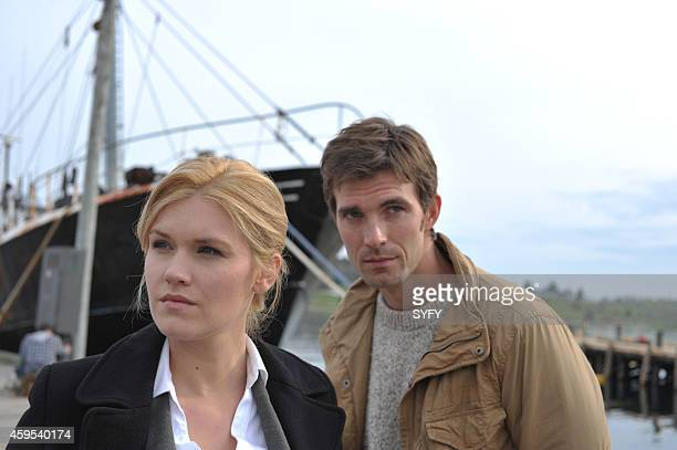HAVEN 'Welcome to Haven' Pictured Emily Rose as Audrey Parker Lucas Bryant as Nathan Wuomos Photo by Chris Reardon/Syfy