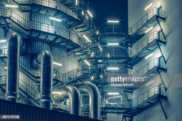 welcome to lunar industries. - power station stock pictures, royalty-free photos & images