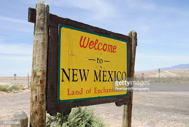 welcome to new mexico - new mexico stock pictures, royalty-free photos & images