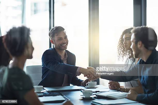 welcome to our panel! - peopleimages stock pictures, royalty-free photos & images