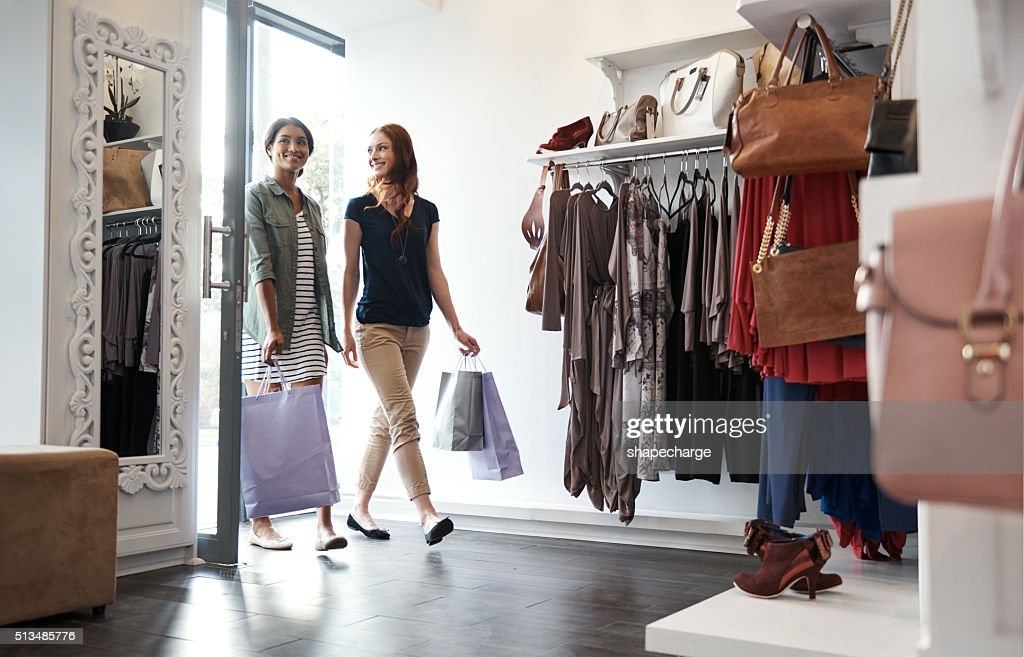 Welcome to shopper's paradise : Stock Photo
