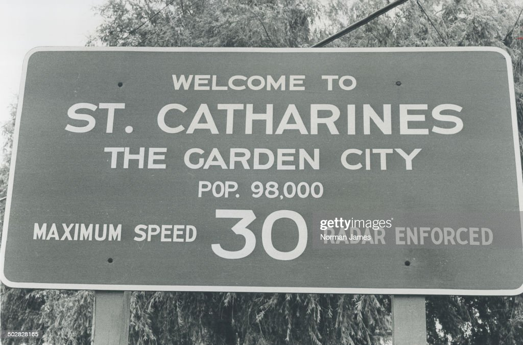 Welcome to St. Catharines The Garden City. : News Photo