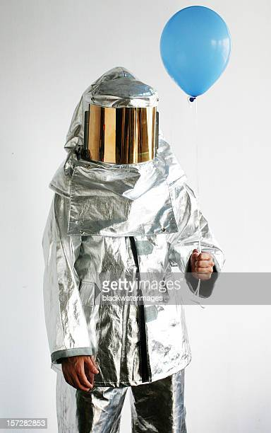 welcome to the party. - fire protection suit stock photos and pictures