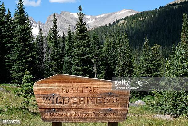 welcome to the wilderness - named wilderness area stock pictures, royalty-free photos & images