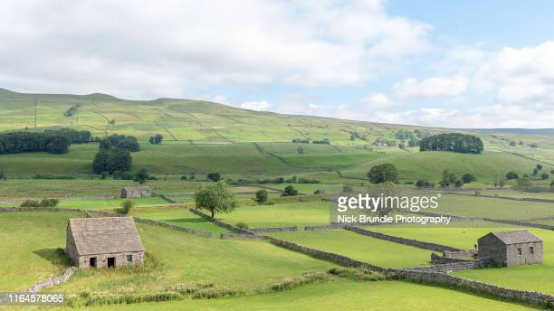 welcome to the yorkshire dales - village stock pictures, royalty-free photos & images