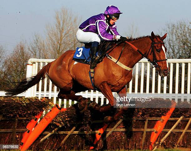 Welcome to Unos ridden by P Kinsella on their way to winning The Sponsor at Huntingdon Handicap Hurdle Race at Huntingdon Race Course on December 8...