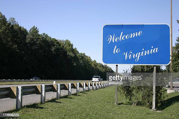 welcome to virginia! - virginia stock pictures, royalty-free photos & images