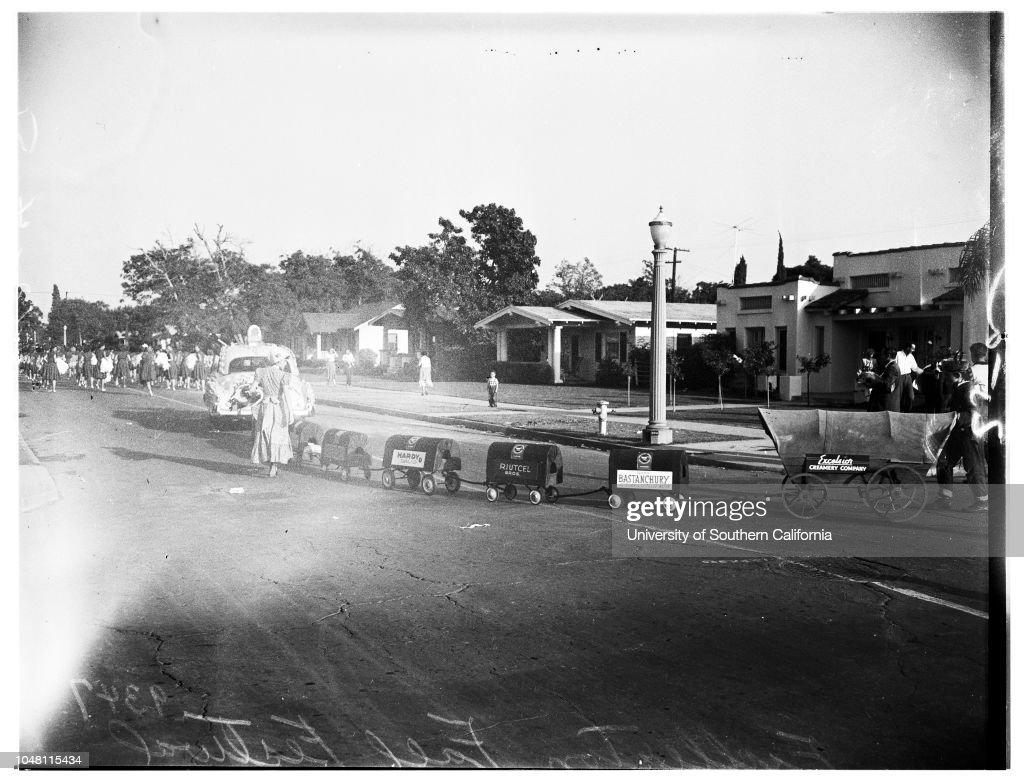 welcome wagon fullerton fall festival 4 october 1951 kay koontz