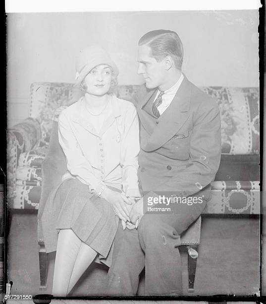 Welcomed by Phil Plant's Mama Constance Bennett of stage and films last night saw the perfect climax to her elopement with the $11000 heir and...