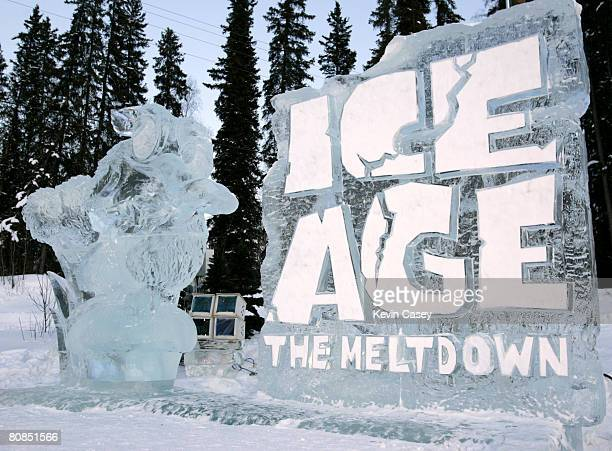 Welcoming event for the opening of ICE AGE THE MELTDOWN Park in Fairbanks Alaska on March 12 2006 'ICE AGE THE MELTDOWN' brings back the subzero...