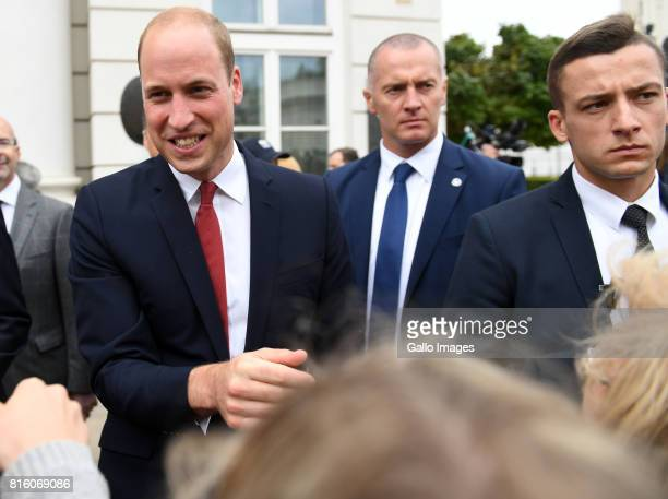 Welcoming of their Royal Highnesses Prince William and Kate Middleton by the President of the Republic of Poland Andrzej Duda and Mrs KornhauserDuda...