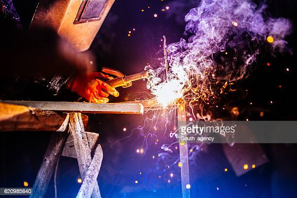 welder - welding stock photos and pictures