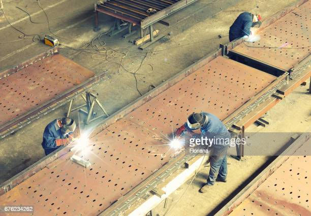 welding large structure
