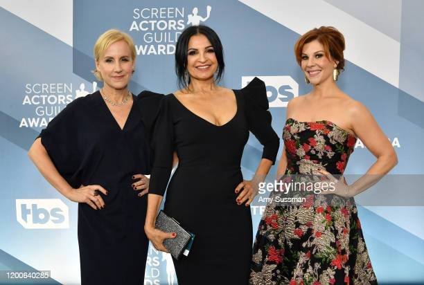 Welker White Kathrine Narducci and Stephanie Kurtzuba attend the 26th Annual Screen Actors Guild Awards at The Shrine Auditorium on January 19 2020...