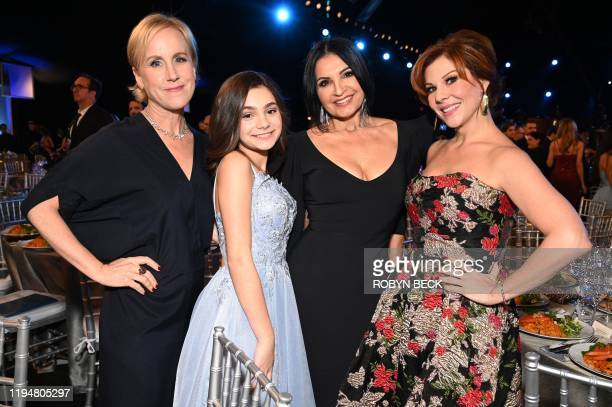 Welker White Lucy Gallina Kathrine Narducci and Stephanie Kurtzuba attend the 26th Annual Screen Actors Guild Awards show at the Shrine Auditorium in...