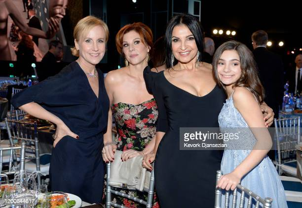 Welker White Stephanie Kurtzuba Kathrine Narducci and Lucy Gallina attend the 26th Annual Screen ActorsGuild Awards at The Shrine Auditorium on...