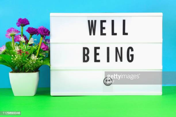 well being - lightbox stock photos and pictures
