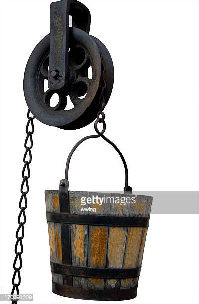Well Bucket and Pulley