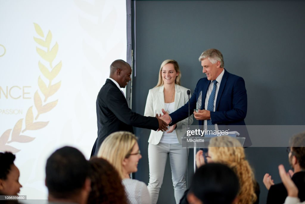 Well done on this great achievement : Stock Photo