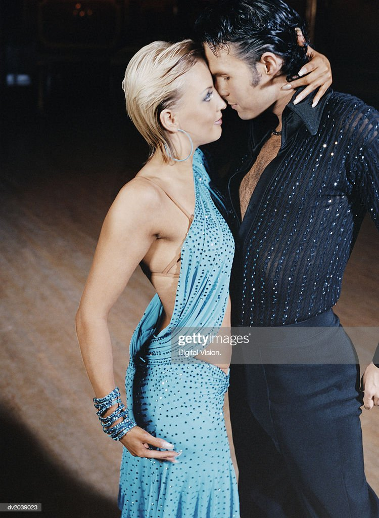 Well Dressed Couple Ballroom Dancing : Stock Photo