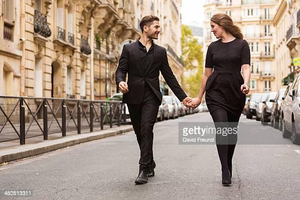 Well Dressed Loving Couple