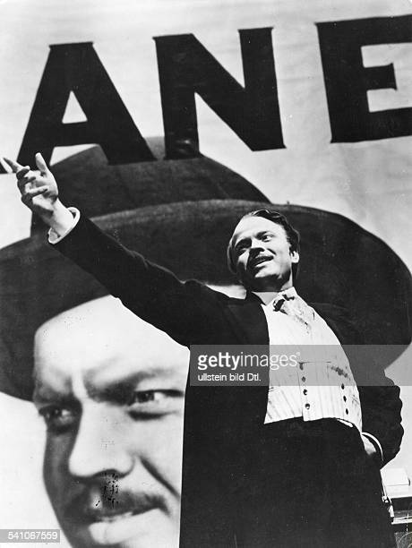 Welles, Orson - Actor, film director, USA - *06.05..1985+ Scene from the movie 'Citizen Kane' Directed by: Orson Welles USA 1941 Film Production: RKO...