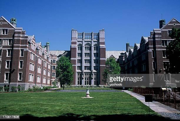 ウェズリー大学寮 - 中庭 ストックフォトと画像