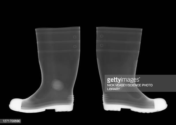 wellington boots, x-ray - scientific imaging technique stock pictures, royalty-free photos & images