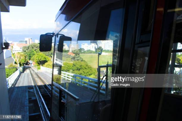 wellington cable car - gado stock photos and pictures