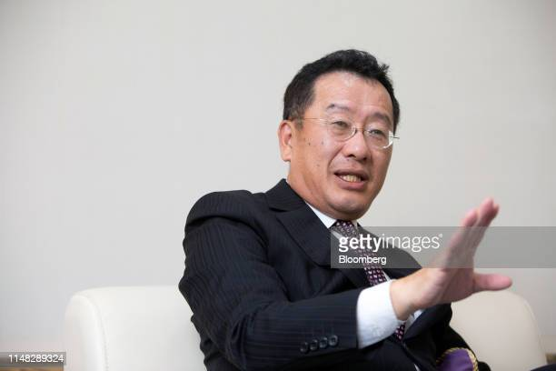 Wellington Koo, chairman of Taiwan's Financial Supervisory Commission, speaks during an interview in Taipei, Taiwan, on Monday, June 3, 2019....