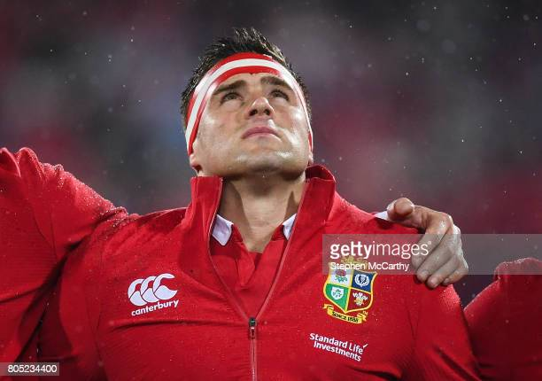 Wellington New Zealand 1 July 2017 CJ Stander of the British Irish Lions during the Second Test match between New Zealand All Blacks and the British...