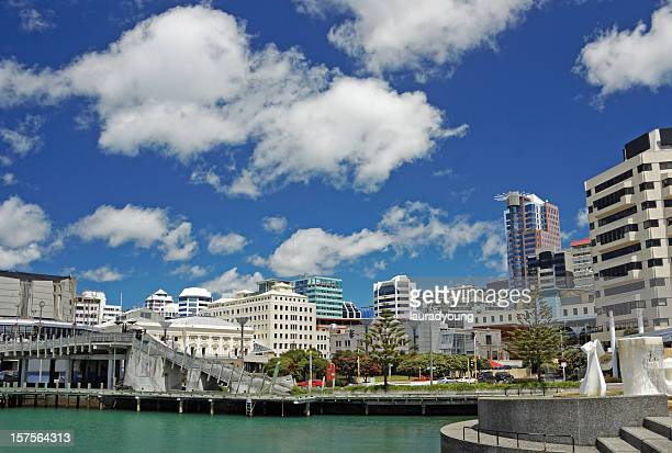 Wellington New Zealand Wharf Area