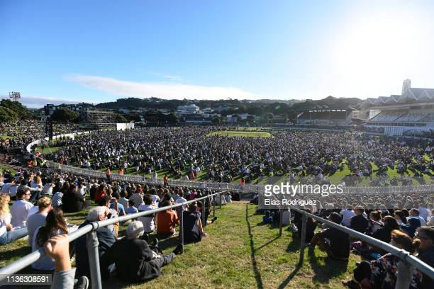 Wellington Vigil held at the Basin Reserve on March 17 Wellington New Zealand 50 people are confirmed dead with 36 injured still in hospital...