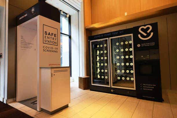 NY: Covid-19 Test Kits Sold Through Vending Machine In New York