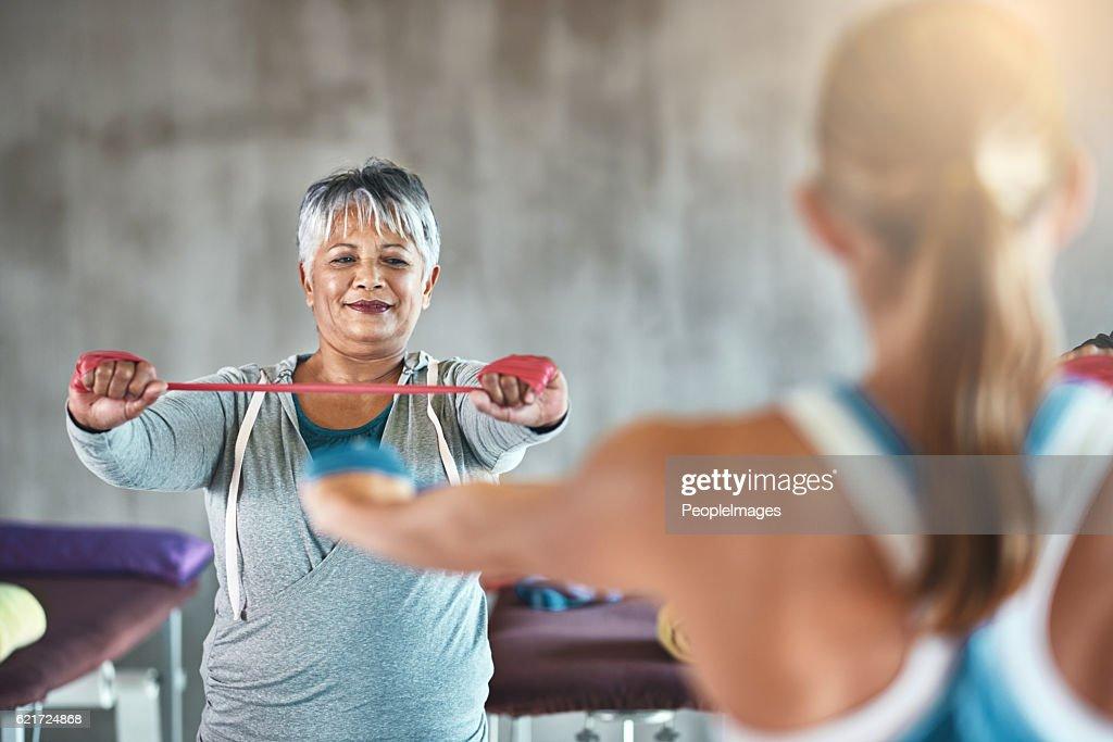 Wellness is ageless : Stock Photo