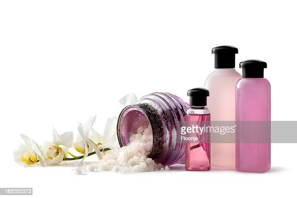 Wellness: Pink Spa Theme with Bath Salt and Orchid