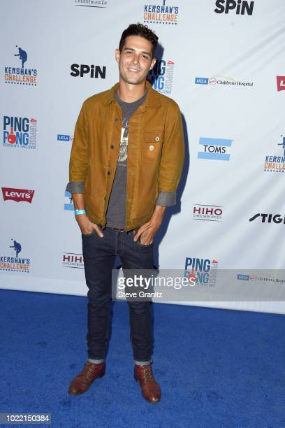 Wells Adams attends the 6th annual PingPong4Purpose at Dodger Stadium on August 23 2018 in Los Angeles California